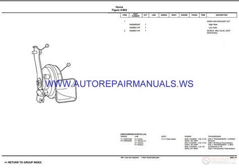 auto manual repair 1997 dodge stratus spare parts catalogs chrysler dodge stratus ja parts catalog part 2 1997 2000 auto repair manual forum heavy