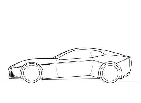 Lamborghini Side View Drawing Automotive Design Journal A Topnotch Site