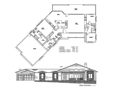 Arizona House Plans Cabins 2364 Sf Welcome To Plans By Dean Drosos