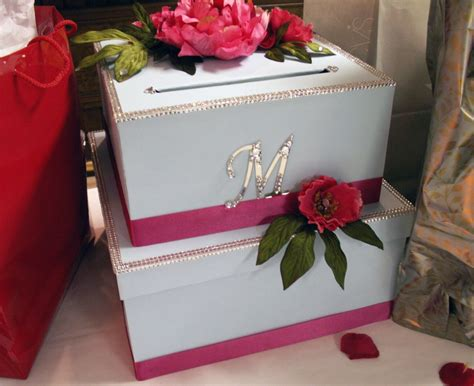 how to make a wedding card box with paint diy wedding card box project