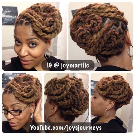 pin up styles for dreads loc pin up my loc styles and