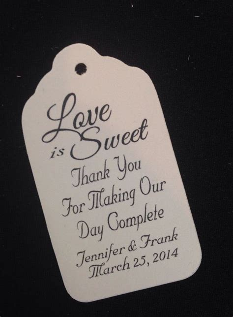 25 best ideas about thank you tags on thank wedding favors quotes wedding tips and inspiration