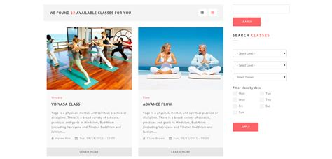 drupal themes wellness yogi premium responsive yoga drupal theme