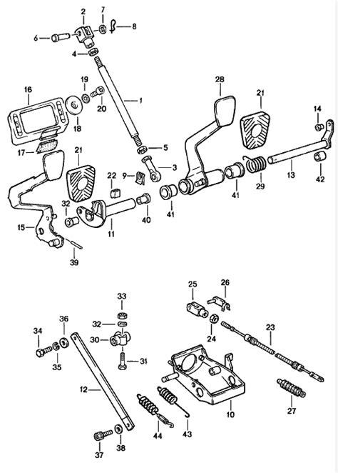 Porsche 911 Clutch Pedal Shaft 93042302701 - 93042302701