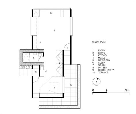 yoga studio floor plan this small building next to a pond was designed to be used