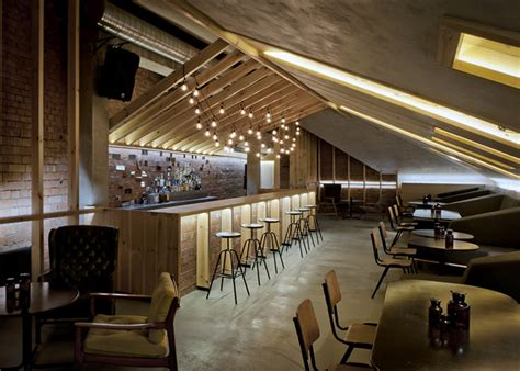 attic bar  inblum architects minsk belarus