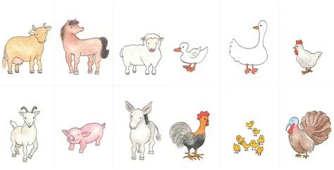 Cards Animals - 7 best images of free printable farm animal matching