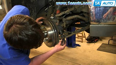 how to install replace outer steering tie rod 2000 06