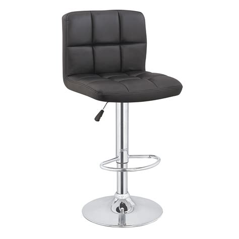 contemporary bar stools swivel 2 x homegear m2 contemporary adjustable swivel faux