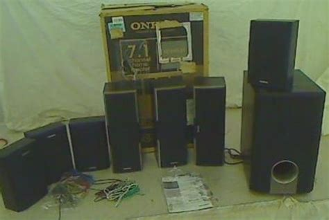 onkyo sks ht  channel home theater speaker system