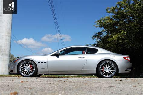 custom maserati granturismo gran turismo on cor concave waxzarra forged wheels