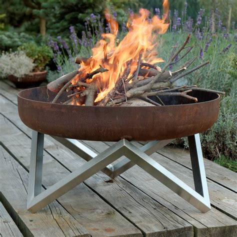 Steel Firepit Personalised Yanartas Steel Pit By Arpe Studio Uk Notonthehighstreet