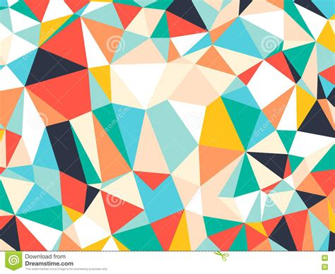 geometric pattern random abstract bright colorful random triangle geometric