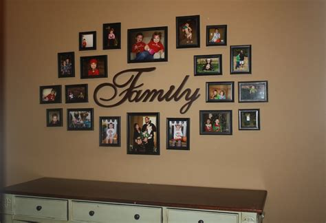 Mens Kitchen Ideas 30 Family Picture Frame Wall Ideas