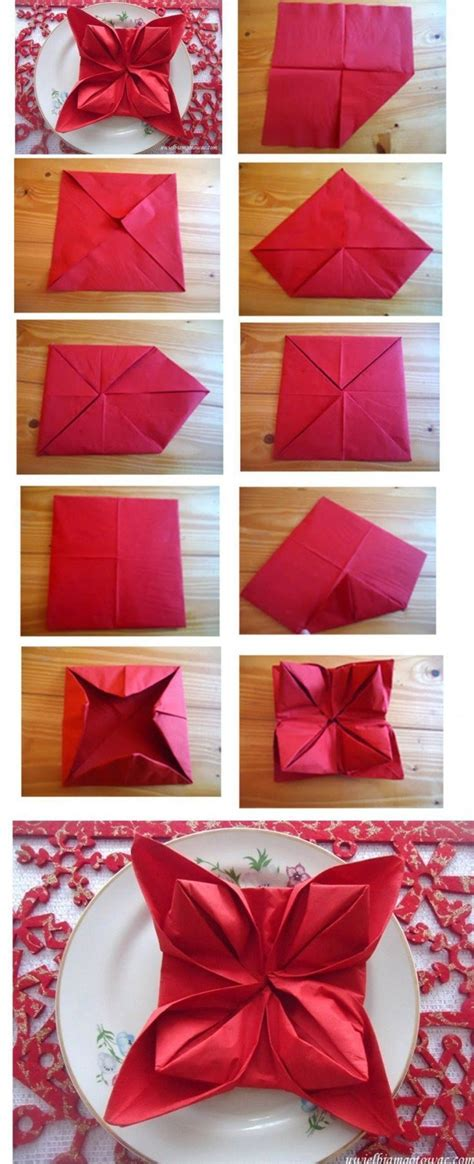 images of christmas napkins christmas napkin folding pictures photos and images for