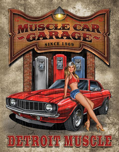 Garage Signs And Decor by Quotes Car Garage Quotesgram