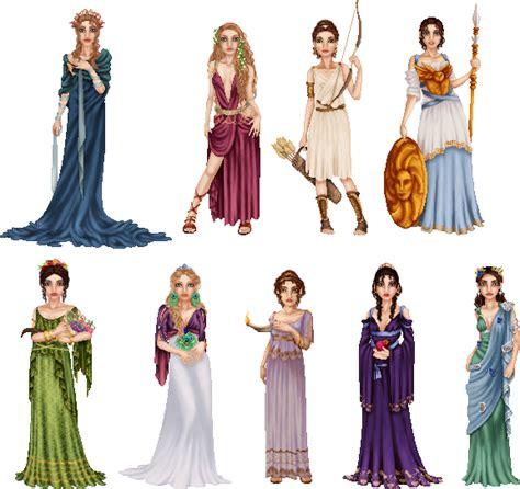 Stylish Costume Of The Day Goddess by Goddesses Majasdiary