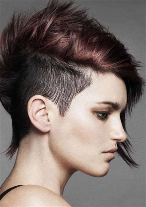 woman half shaved haircuts 25 brilliant half shaved head hairstyles for young girls