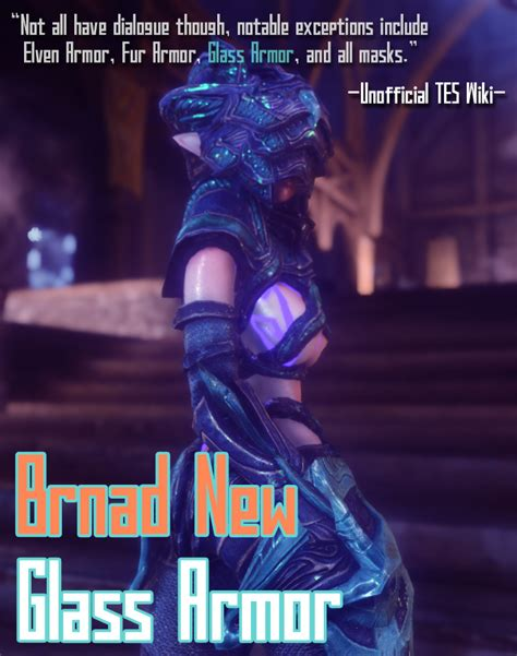 brand new light stalhrim armor for cbbe hdt bodyslide at skyrim nexus skyrim новая стеклянная броня hdt unp cbbe
