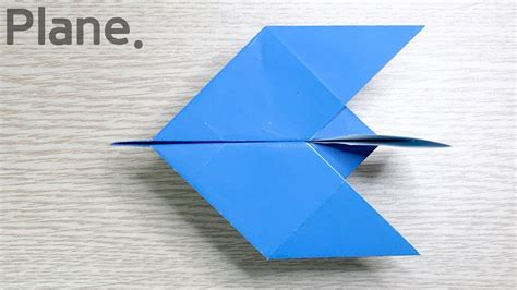 Simple Origami Plane - easy paper airplane origami my crafts and diy projects