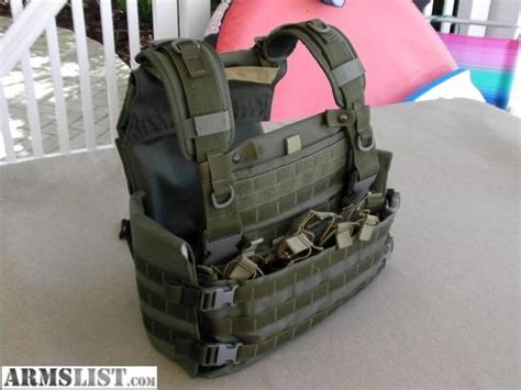 Armslist For Sale Trade Weesatch Plate Carrier W Side