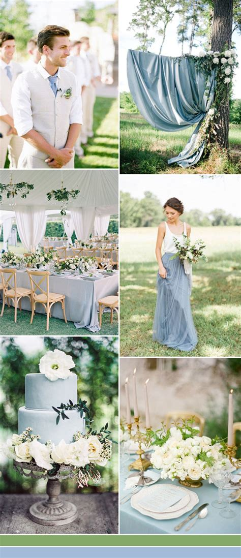August Wedding Ideas by The Best Shades Of Blue Wedding Color Ideas For 2017