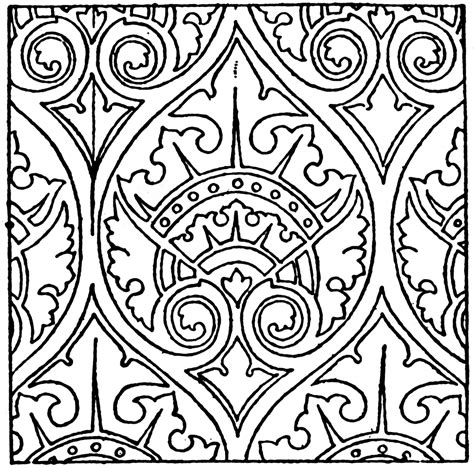 pattern in french modern french pattern clipart etc
