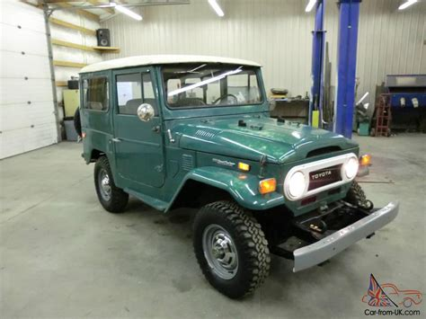 original land cruiser 1974 toyota land cruiser fj40 no reserve original paint