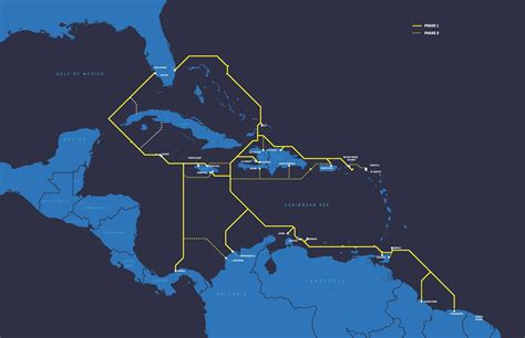 deep blue cable announces plans  extend pan caribbean subsea cable system  colombia