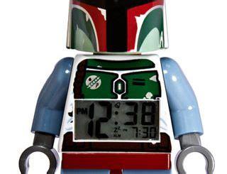 Lego Mini Figure Alarm Clock Boba Fett event countdown clock