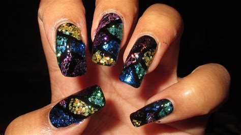 Stained Glass Nail Tutorial