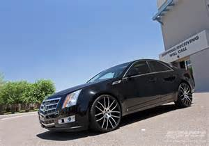 2010 Cadillac Cts Wheels 2010 Cadillac Cts With 22 Quot Giovanna Kilis In Machined