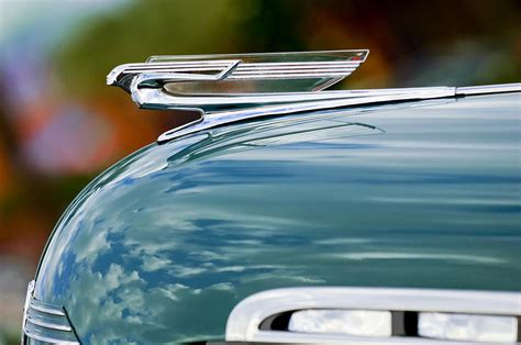1940 Home Decor by 1940 Chevrolet Hood Ornament 2 Photograph By Jill Reger