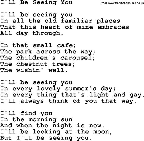 willie nelson song i ll be seeing you lyrics