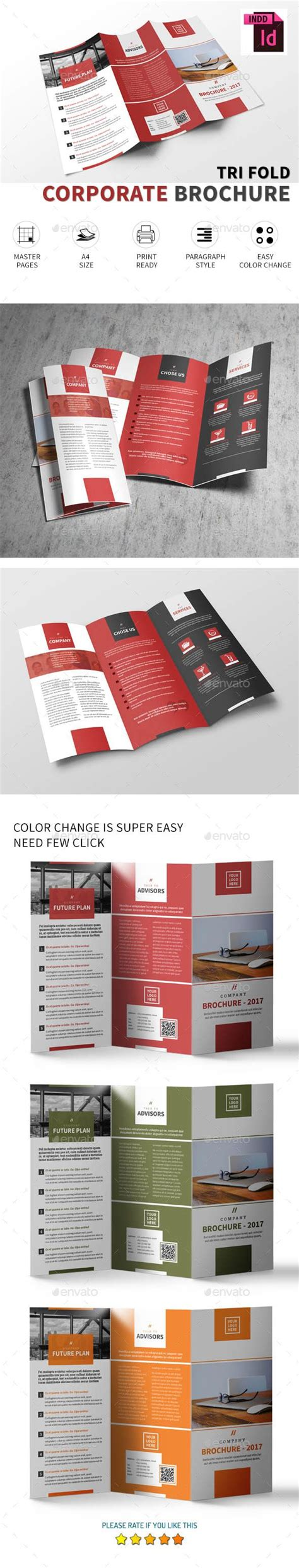 1000 ideas about tri fold brochure on pinterest tri
