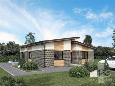project houses simple but exceptional single storey house project gerda