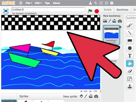 how to make a boat racing game in scratch 10 steps - How To Make A Boat Game On Scratch