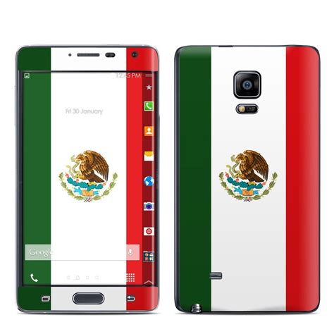 note edge wallpaper flags samsung galaxy note edge skin mexican flag by flags