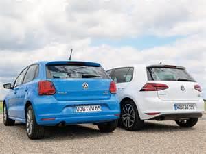 Volkswagen Polo Vs Golf by Vw Golf Vs Vw Polo Vergleichstest Bild 2 Autozeitung De