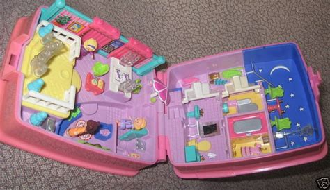 polly pocket dolls house mattel 1994 blue bird polly pocket compact doll house swindon england