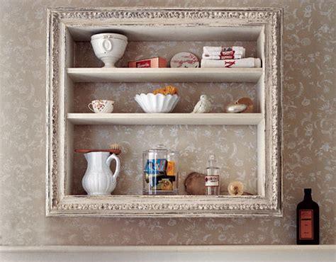 frame and add a shelf to a builder grade mirror hometalk diy old picture frame display shelf tudorks