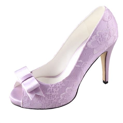 Lilac Shoes For Wedding by Lavender Wedding Heels Www Pixshark Images