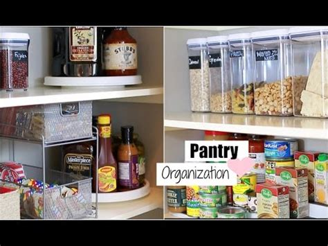 Food Pantry Definition by Organize With Me Pantry Organization Tips For An Organized Pantry Misslizheart