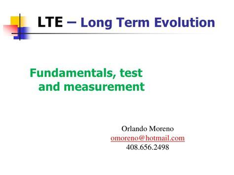 lte tutorial powerpoint lte fundamentals