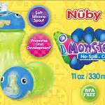 Nuby Imonster Grip N Sip Cup 210ml nuby grip n sip cup my a work in progress