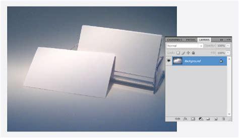 desain kartu nama kosong membuat mock up kartu nama dengan photoshop desainstudio