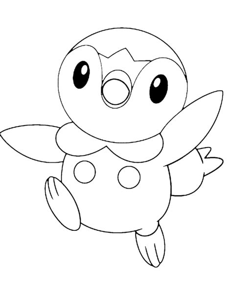 pokemon coloring pages of piplup piplup pokemon coloring pages az coloring pages