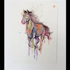 horse watercolor tattoo design best tattoo ideas gallery