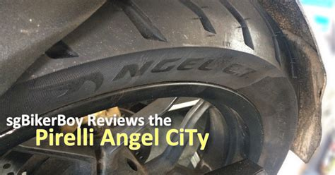 Motorradreifen Test Sporttourer by Pirelli Angel City Tire Review Ramblings Of A Singapore