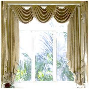 Curtain drapery swags curtain design